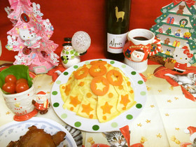 簡単クリスマスパーティーごはん