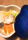 牛乳とめんつゆで作る簡単きのこ鍋