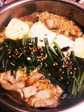 牡蠣入りキムチ鍋