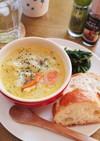 我が家の定番★キャベツのミルクスープ