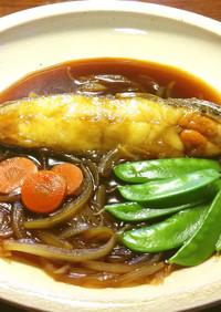 なめたがれいの揚げ煮(人参&玉葱煮)