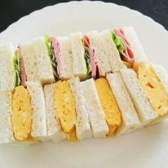 ゆず胡椒香る*卵焼きサンドイッチ
