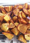 フライパンで簡単揚げない大学芋✿