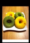 同時に2種類 簡単 焼きドーナツ