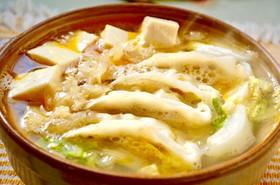 鶏塩餃子鍋