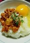 チャンジャの贅沢卵かけご飯☆アレンジ