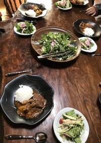 シカ肉の香草煮
