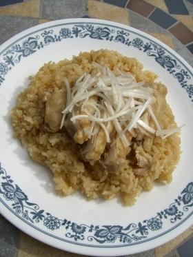 炊飯器におまかせ♪焼肉のタレde鶏肉ご飯