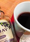 女子的お酒♫夜のホット一息カシスティー