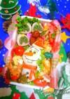 『クリスマス★オラフ』弁当*冬弁