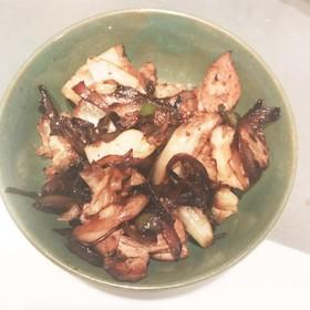 焼肉のタレで簡単野菜炒め