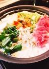 簡単 味噌 豆乳鍋