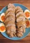 味付け卵 鶏むね肉 簡単チャーシュー