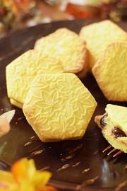 パンプキンレーズンサンドクッキーの写真