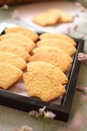 小梅の扇子クッキーの写真