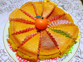 簡単カボチャケーキ