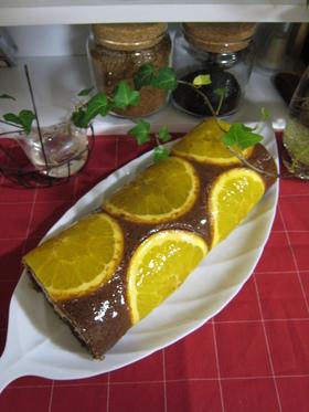 まるごとオレンジ☆ロールケーキ