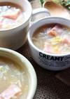 とろ~り温かベーコン白菜きのこのスープ