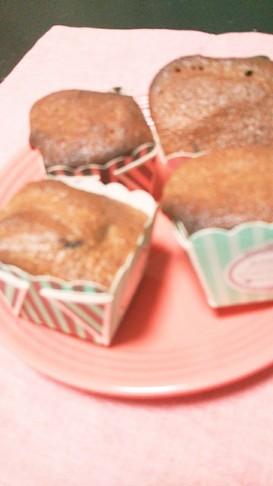 簡単!混ぜるだけ!ノンオイルカップケーキ