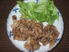 牛肉の天ぷら
