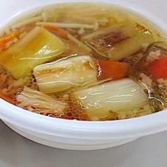 仙台井土ねぎ ほっとスープ