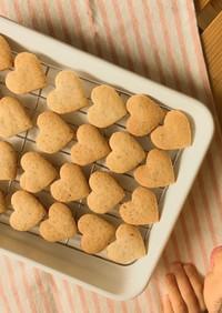 サクサク♡大麦粉クッキー