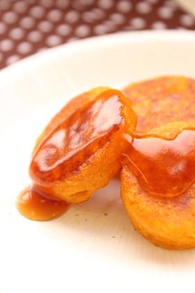 冬至のおやつに!かぼちゃ餅みたらしあん