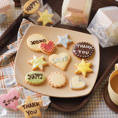 友チョコに♪メッセージクッキー