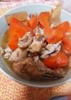 鶏もも手羽と大根・ニンジンの煮物