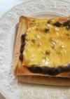あんこ(小豆) チーズ トースト