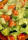 簡単! パンプキンポット+アボカドサラダ