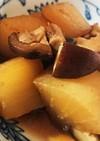 大根と生椎茸の煮物