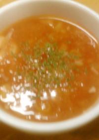 風邪に効く?大根としょうがと大蒜のスープ