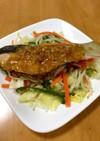 大人の給食☆鮭のチャンチャン焼き
