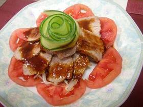 エバラ焼肉のたれで簡単煮豚