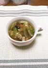 白菜とベーコンのコンソメスープ