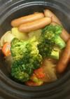 茅の舎野菜だしで作る簡単ポトフ