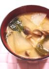 ☆冬瓜と生姜のお味噌汁☆