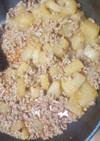 大根とひき肉のピリ辛味噌煮
