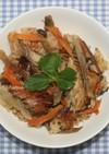 簡単旨☆サバの干物でサバ味噌炊き込みご飯