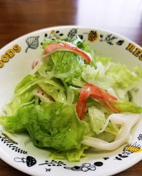☆レタスのさっぱりサラダ☆