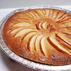 超簡単!りんごのケーキ