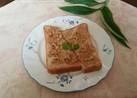 きな粉とごまのクルミヨーグルトトースト♡