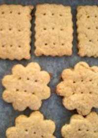 子どものおやつに、おからクッキー