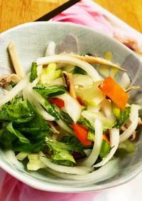 セロリと野菜の酢の物