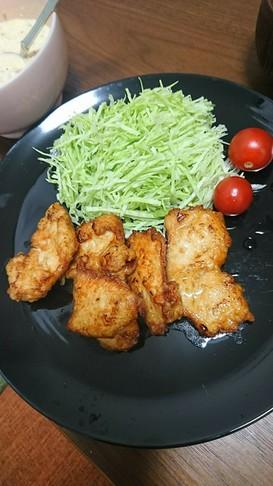 鶏むね肉でチキン南蛮