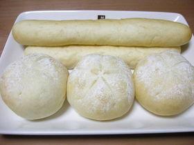 ふわふわ白パン