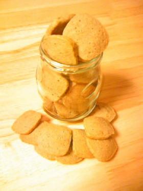 砂糖を足さない(^^)こし餡クッキー