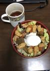 親子系ガパオライス(鶏肉卵エトセトラ!)