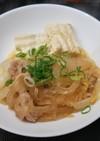 白菜の韓国風お鍋